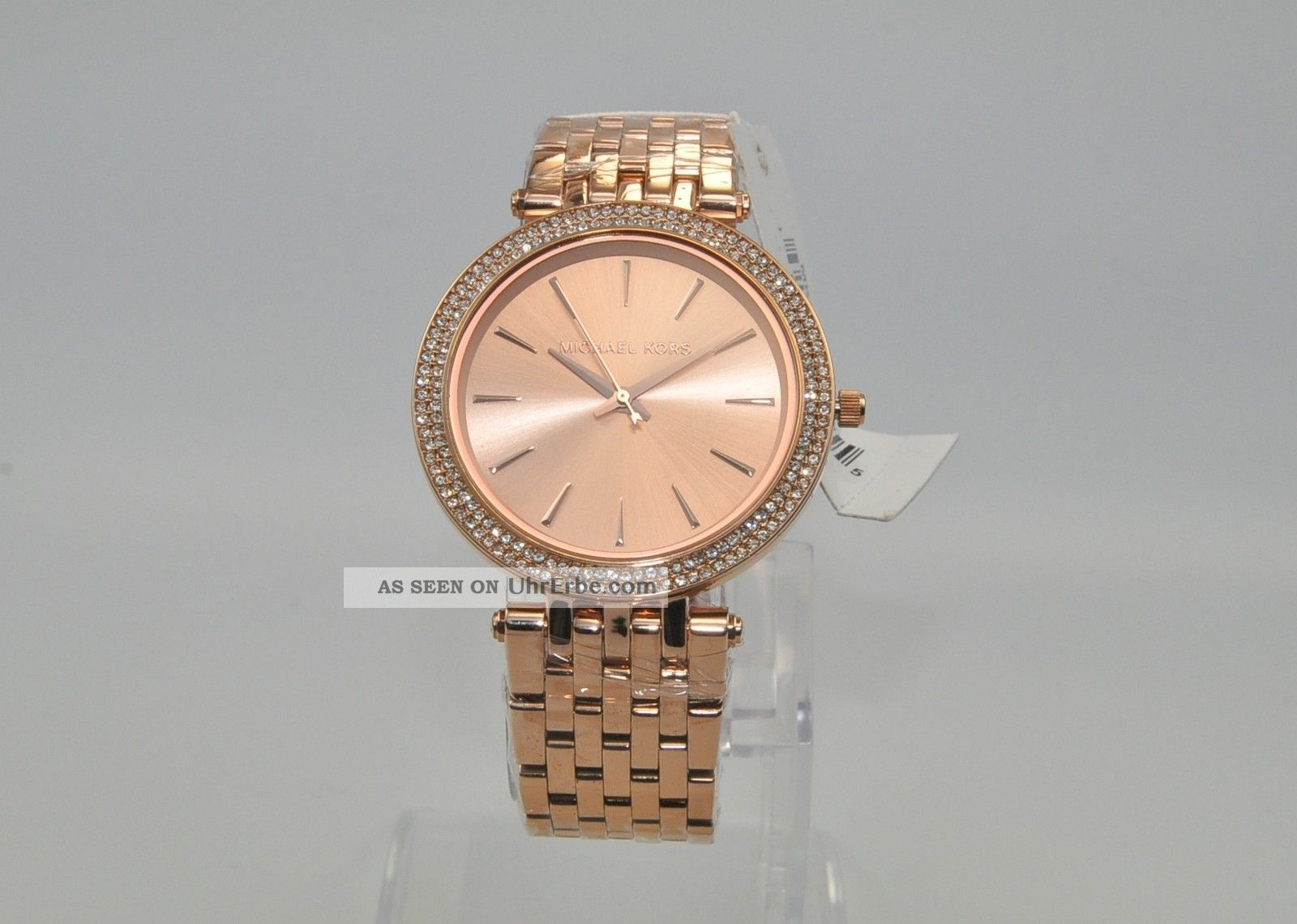 Michael Kors Mk3192 Damenuhr Armbanduhr Uhr Edelstahl Rose Armbanduhren Bild