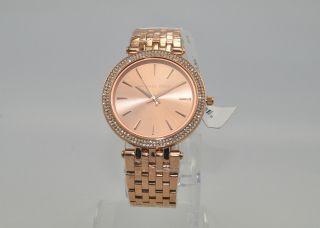 Michael Kors Mk3192 Damenuhr Armbanduhr Uhr Edelstahl Rose Bild