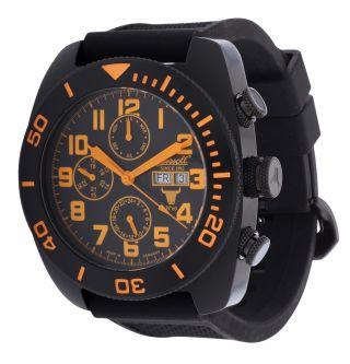Ingersoll Herren Automatik Uhr Bison No.  60 Schwarz In1306bkbk Bild