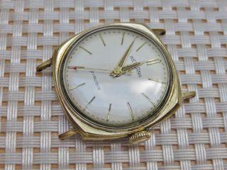 Bellana Uhr Handaufzug Vintage - Dienstuhr (wahrscheinlich Deutsche Bahn) Bild
