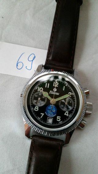 Poljot Russland Chronograph MilitÄr Handaufzug Cal.  3133 (69) Bild