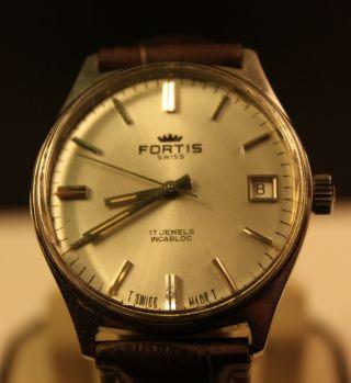 Fortis Handaufzug Herren Uhr Bild