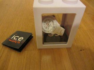 Ice Watch Damen Weiß Small Neue Batterie Umverpackung Bild
