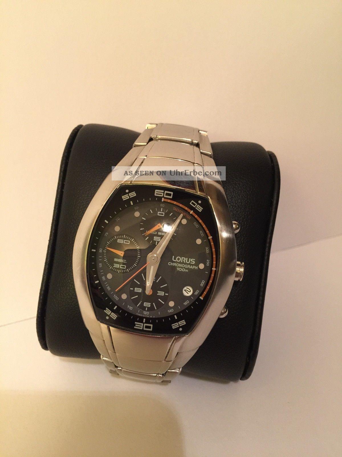 Lorus Chronograph Rf8 - Serie / Kaliber Ym92 Armbanduhren Bild