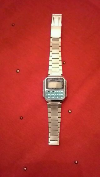 Casio Ca - 901 Calculator Watch Orig.  Japan Taschenrechneruhr Bild