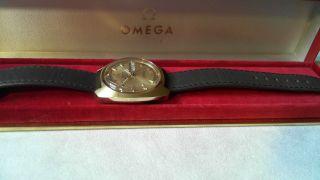 Omega Electronic Stimmgabeluhr F 300 Chronometer,  Omega Box,  20 Micron Bild