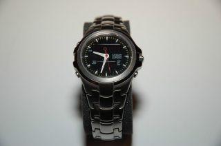 Citizen Herrenuhr Analog/digital Titanium Jq8150 - 57e Worldtimer Chronograph Bild