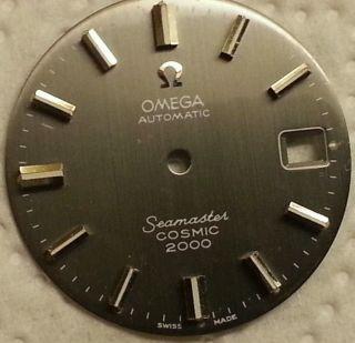 Omega Seamaster Cosmic 2000 Zifferblatt Bild