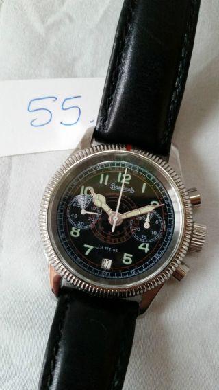 Poljot Russland Chronograph MilitÄr Handaufzug Cal.  3133 (55) Bild