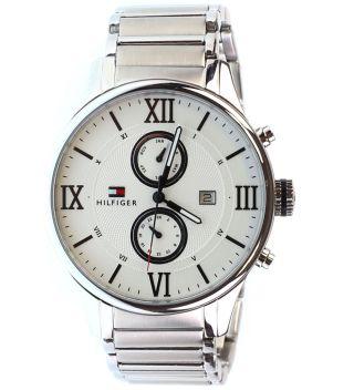 Tommy Hilfiger Watch Uhr Herrenuhr Uhren Chronograph 1710289 Mit Box - - - - Bild