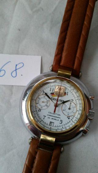 Poljot Russland Chronograph MilitÄr Handaufzug Cal.  3133 (68) Bild