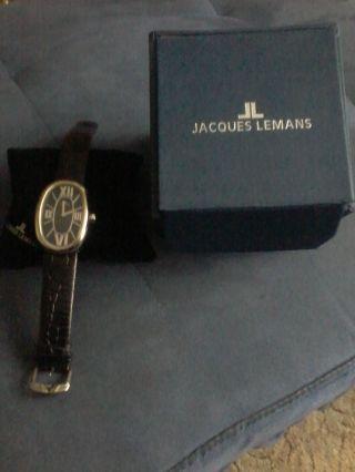 Uhr Von Jacques Lemans Mit Originalverpackung Bild