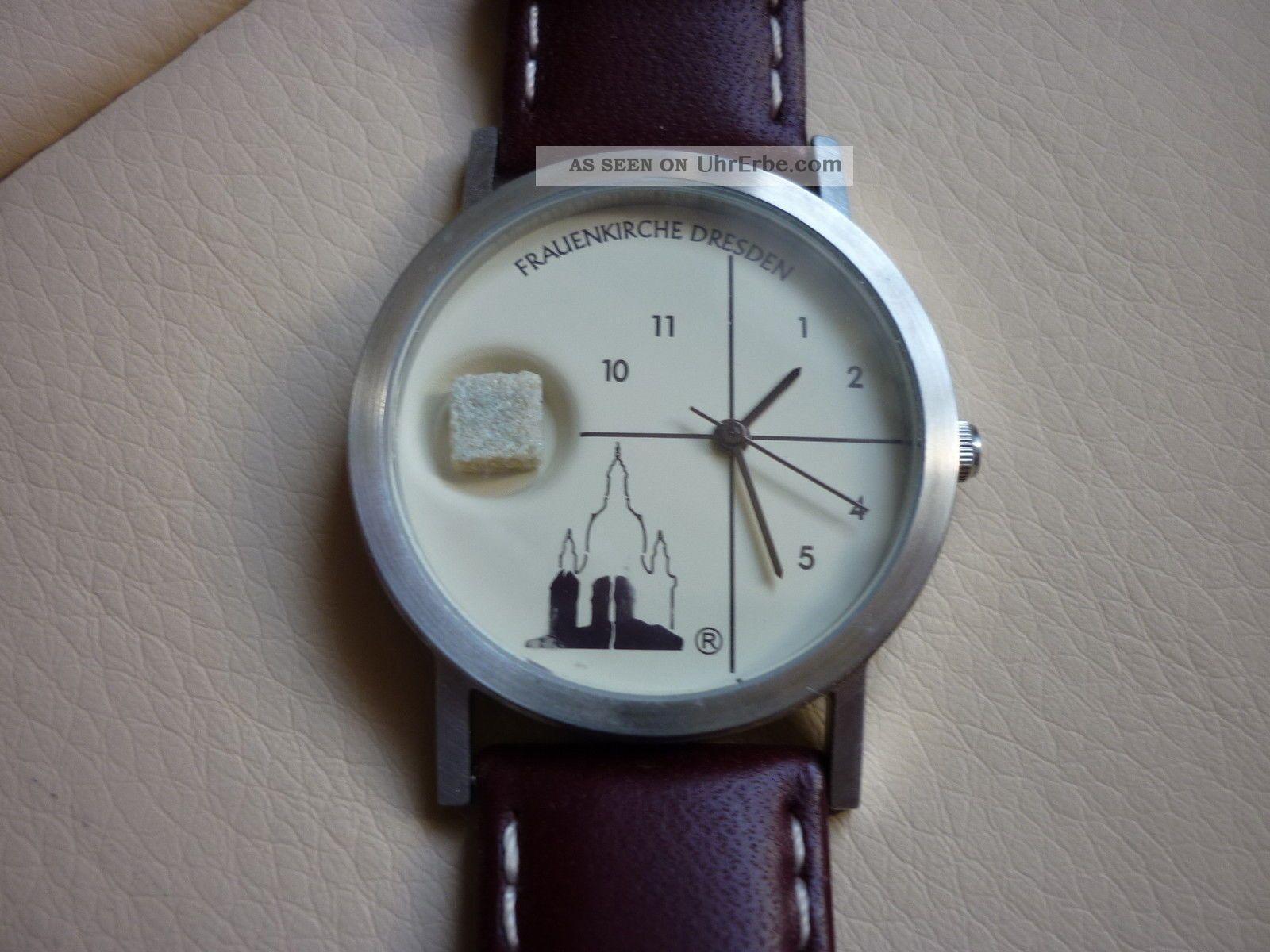 1 Dresdner Frauenkirche Uhr Armbanduhr Edtion 18 Armbanduhren Bild
