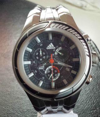 Adidas Herrenarmbanduhr Chronograph Adp 1016250606 200m Wasserdicht Edelstahl Bild
