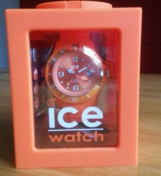 Ice Watch Si.  Oe.  U.  S.  09 Orange - Originalverpackt Bild