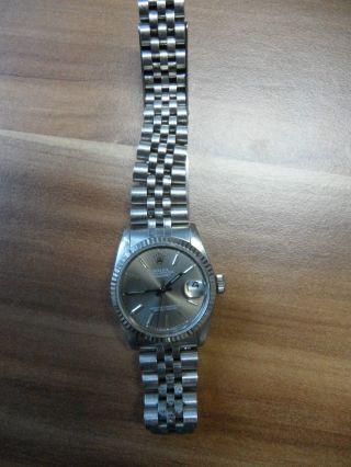 Rolex Armbanduhr Oyster Perpetual Datejust Bild