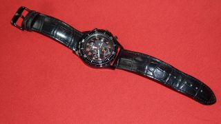 De Tomaso Oceanmaster Chronograph Mit Lederarmband Bild