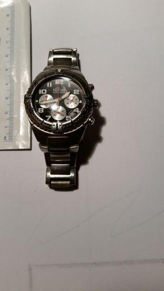 S.  Oliver Sport Chronograph Herren Uhr Bild