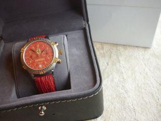 Poljot Ferrari - Herrenuhr Chronograph Handaufzug Kal.  3133 - Top - RaritÄt Bild