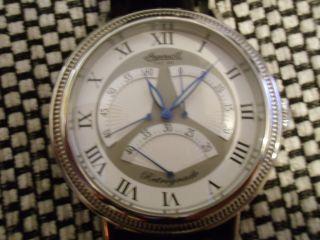 Ingersoll Herren Uhr Retrograde Automatic Limited Edition 5 Atm Bild