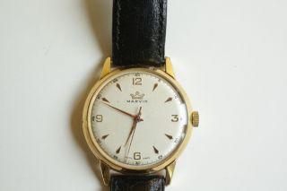 Herren Uhr Marke Marvin 50er Bis 60er Jahre Schweizer Uhr - Mechanisch - Handaufzug Bild
