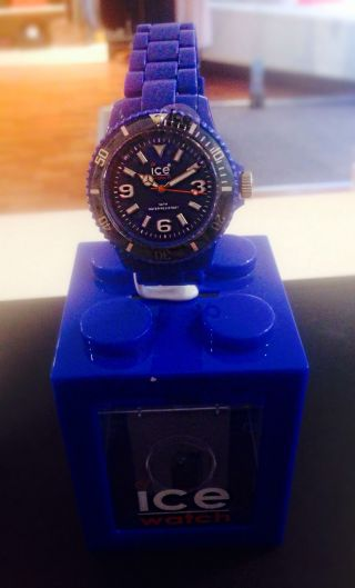 Ice Watch Blau Kunststoff Herren Uni Bild