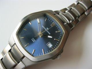 Meister Anker - Titan - Uhr - Herrenuhr - Datum - Blau - Bild