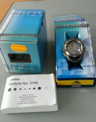 Casio Spf 60 Sea Pathfinder Digital Uhr Bild