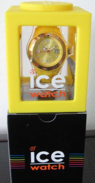 Ice Watch In Gelb - - - Ref.  Si.  Yw.  U.  S.  09 Bild
