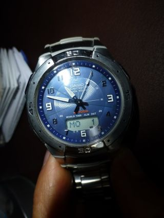 Casio Wave Ceptor Wva470de2avef Armbanduhr Für Herren Bild