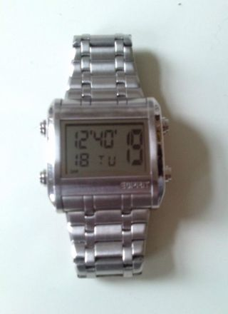 Esprit Digitaluhr,  Uhr,  Armbanduhr Edelstahl - Hau,  Dau - Top 005 102341 Bild