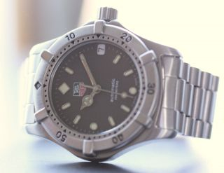 Tag Heuer 2000 Professional - We 2210 - Automatic - Stahl Bild