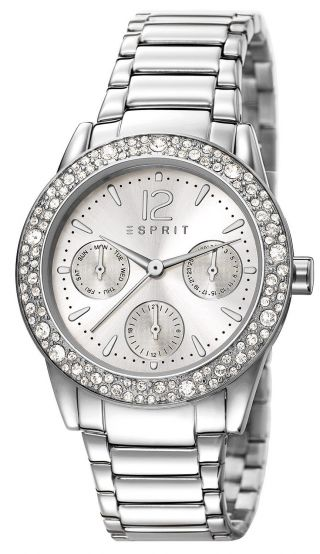Esprit Elsie Silver Multifunktion Damen Uhr Es107152001 Bild