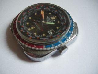 Sicura (später Breitling) Globetrotter - 21 Juwels - Swiss Made Bild