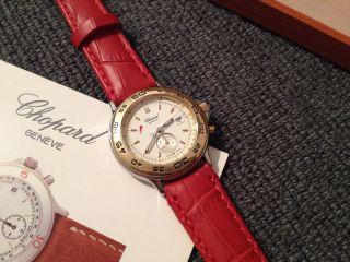 Chopard Mille Miglia 8163 Armbanduhr Damen Uhr Gold 750 Edelstahl Bild