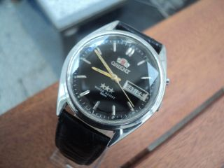 Orient Automatik Herren Armbanduhr Bild