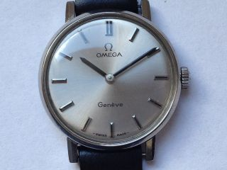 Schöne Omega Edelstahl - Mechanische Uhr Cal.  620 Bild
