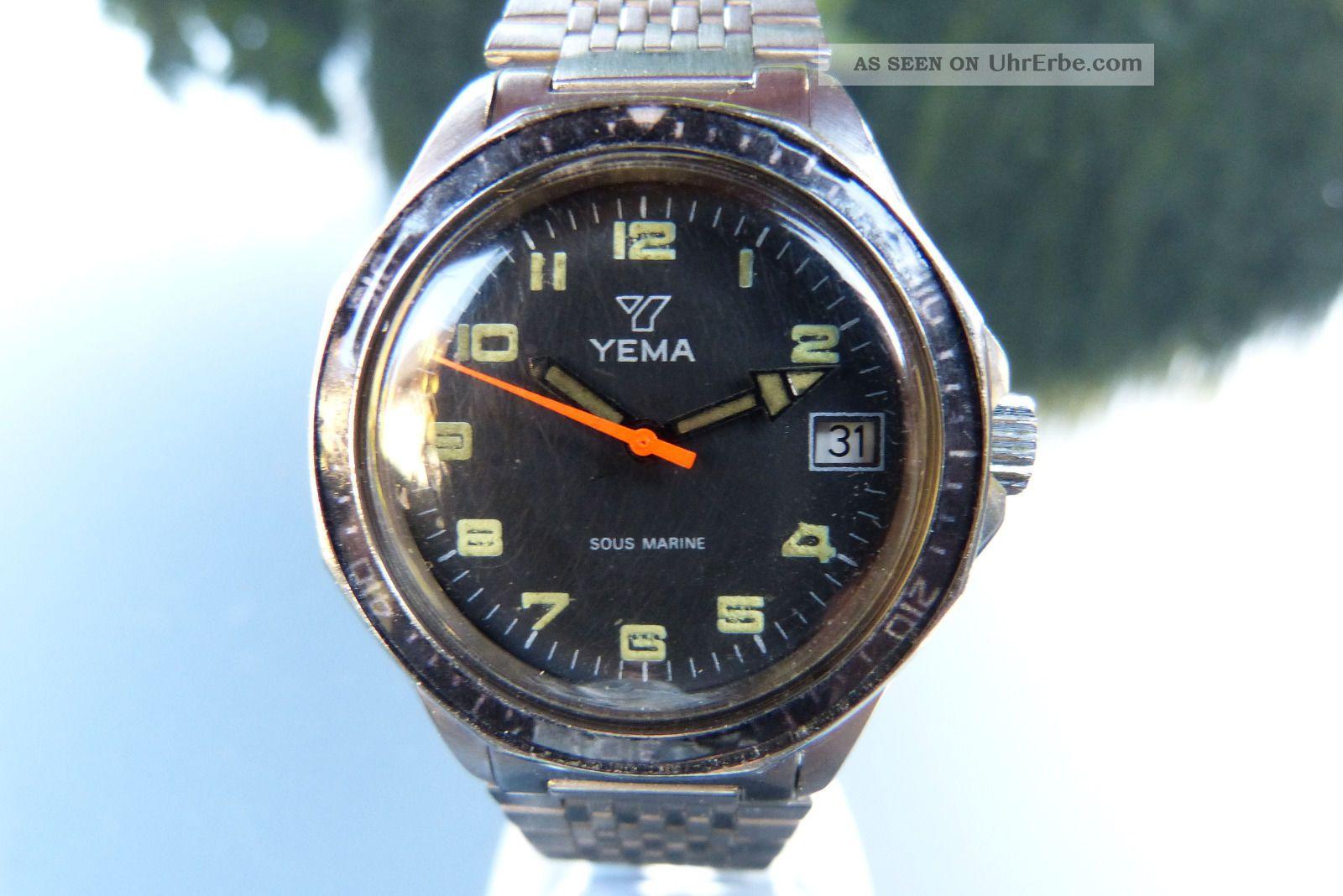 Yema,  Handaufzug,  Kaliber Fe 140 - 1c Armbanduhren Bild