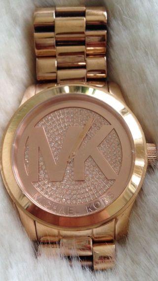 Michael Kors Uhr Mk5661 Rosegold Bild