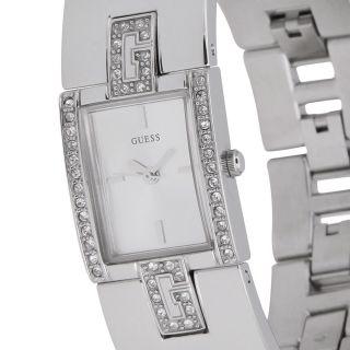 Guess Damen Uhren Silberfarben W75059l1 Hopscotch Bild