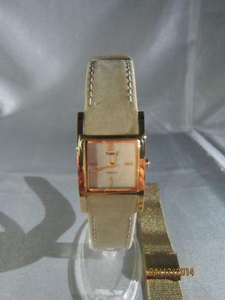 Timex Damenarmbanduhr Mit 2 Bändern Bild