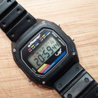 Piratron Lcd Chronograph Alarm Herrenuhr Armbanduhr Uhr Sammler Taucheruhr Bild