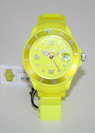 Ice - Watch Ice - Flashy Neon Yellow Big Ss.  Nyw.  Bbs.  12 Gelb Uvp 99,  00€ Bild