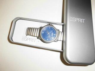 Esprit - Uhr - Armbanduhr - Edelstahl - Silber - In Geschenkbox - Bild