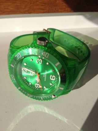 Ice Watch Armbanduhr Unisex,  Neuwertig,  Fb.  Grün Bild