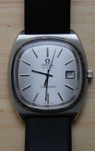 Omega Seamaster Quartz Armbanduhr Für Herren Bild