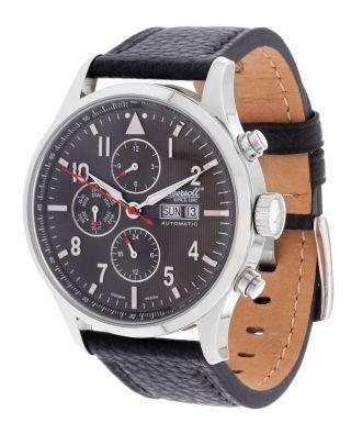 Ingersoll Herren Automatik Uhr Chumash Schwarz In1412gy Bild