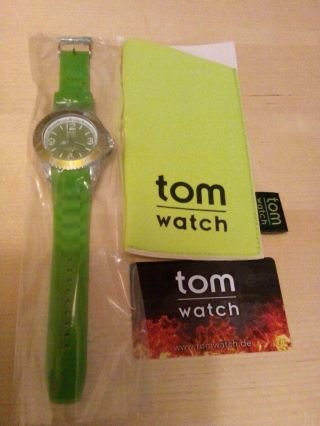 Tom Watch Armbanduhr In Grün Bild