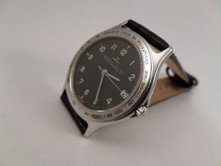 Jaeger Le Coultre Kal.  606 Datum Herrenuhr Armbanduhr Ungetragen Bild
