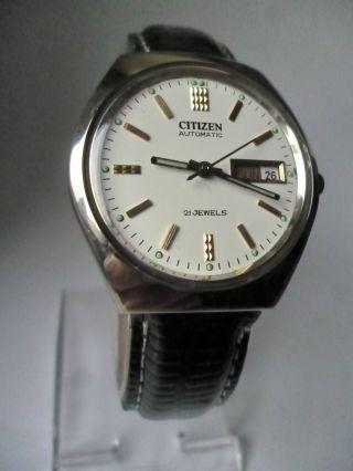 Rare Citizen Withe Eye Day Date Automatik,  Vintage, Bild